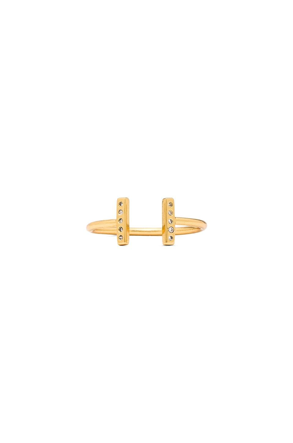 gorjana Vesta Cuff Ring in Gold