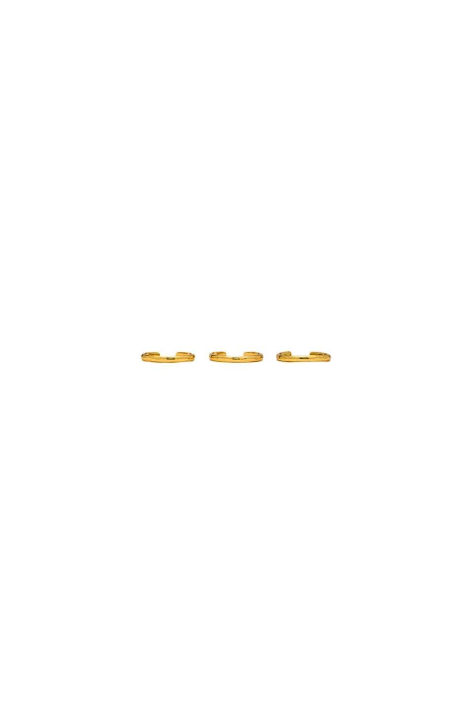 gorjana Taner Cuff Ring Set in Gold