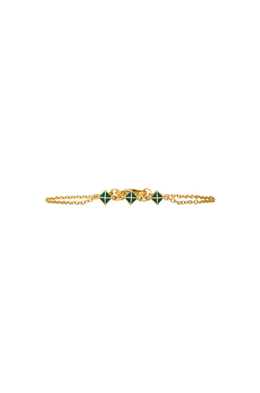 gorjana Lula Pyramid Bracelet in Gold