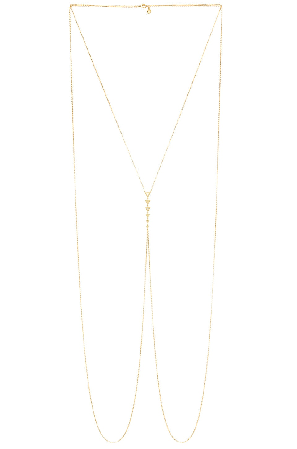gorjana Mika Body Chain in Gold