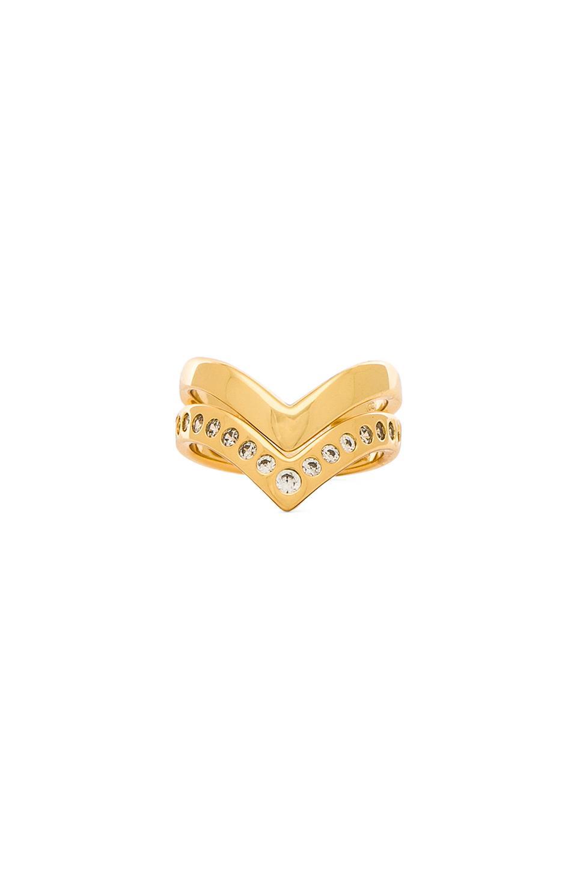 gorjana Tori Midi Ring Set in Gold