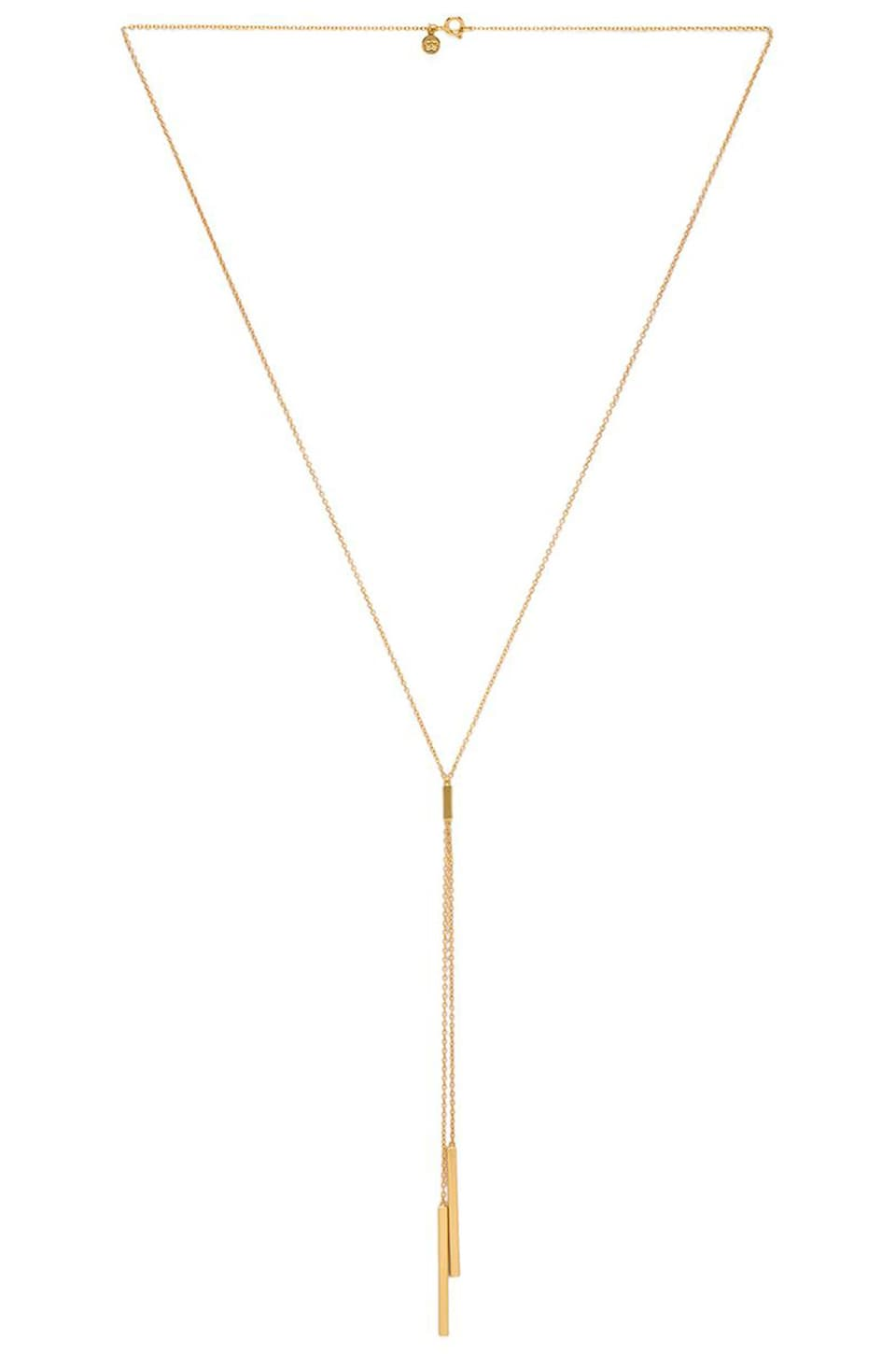 gorjana Mave Lariat in Gold