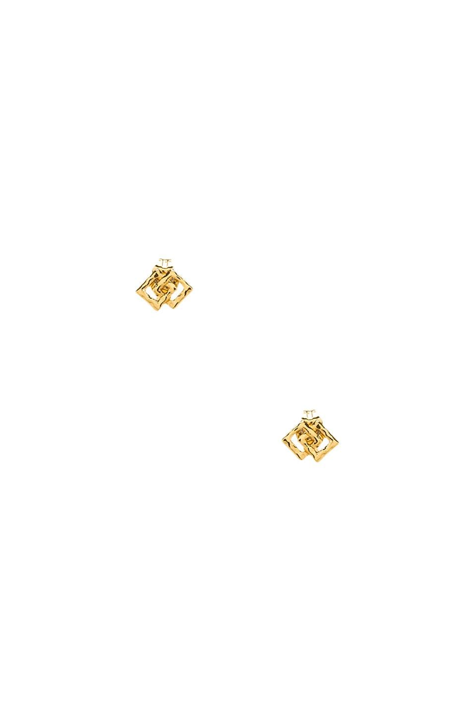 gorjana Azra Studs in Gold