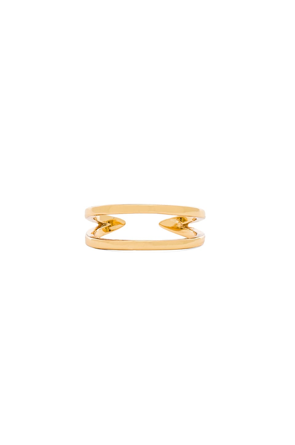gorjana Tira Cuff Ring in Gold