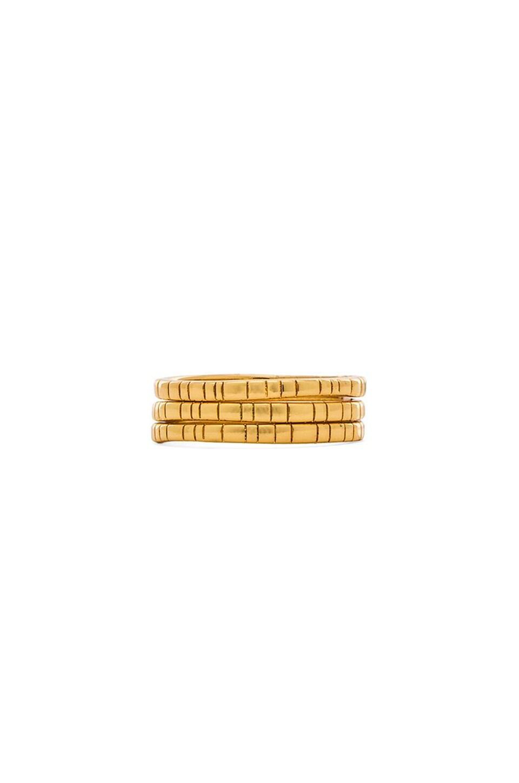 gorjana Evi Midi Set of 3 in Gold