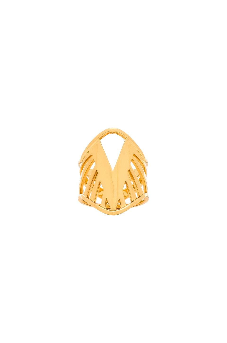 gorjana Share Ring in Gold