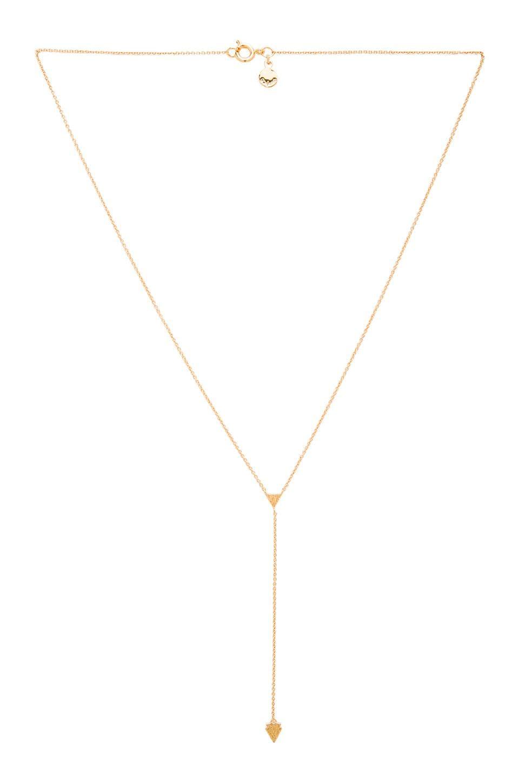 gorjana Nesa Lariat Necklace in Gold