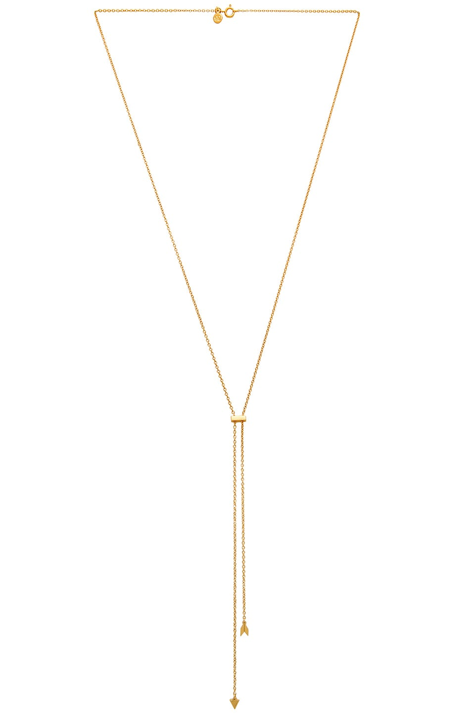 gorjana Durango Bolo Necklace in Gold