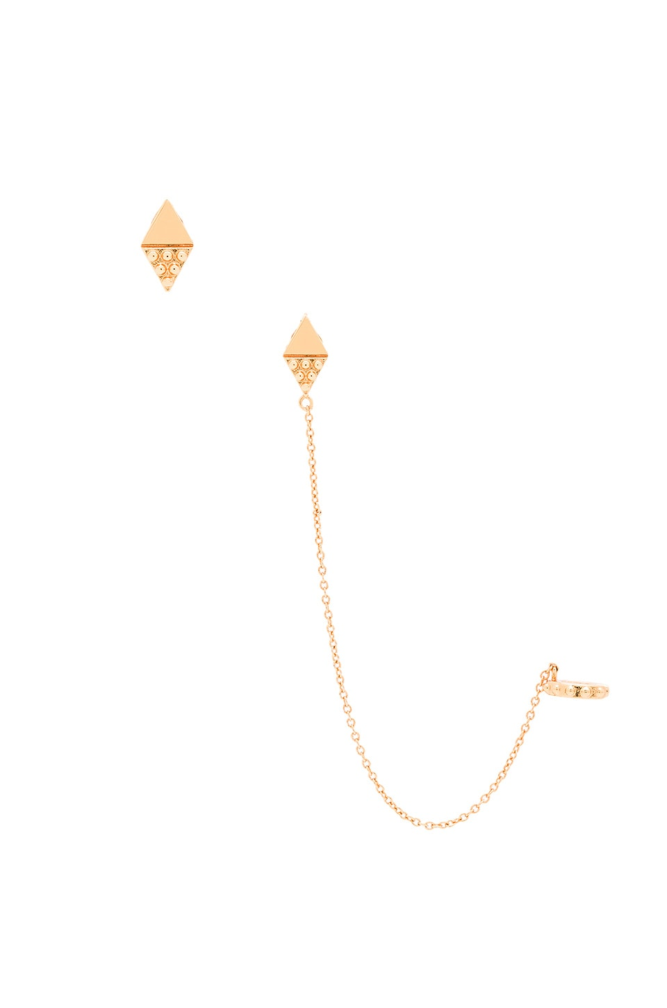 gorjana Bali Diamond Ear Cuff Set in Gold