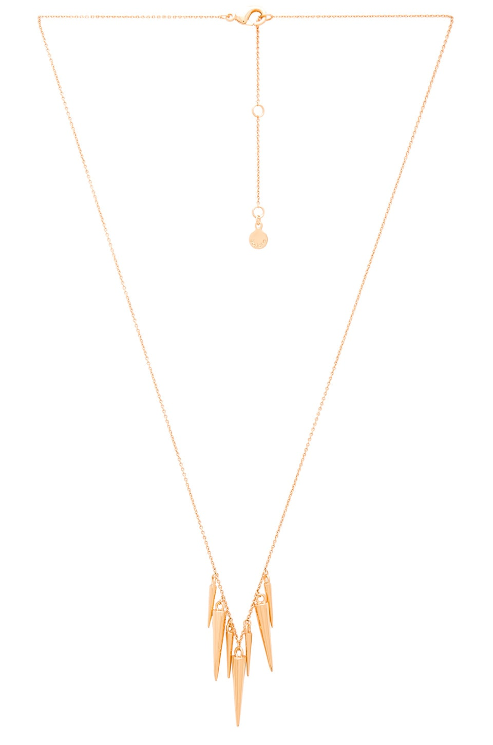 necklace apricot long tiered red l gold