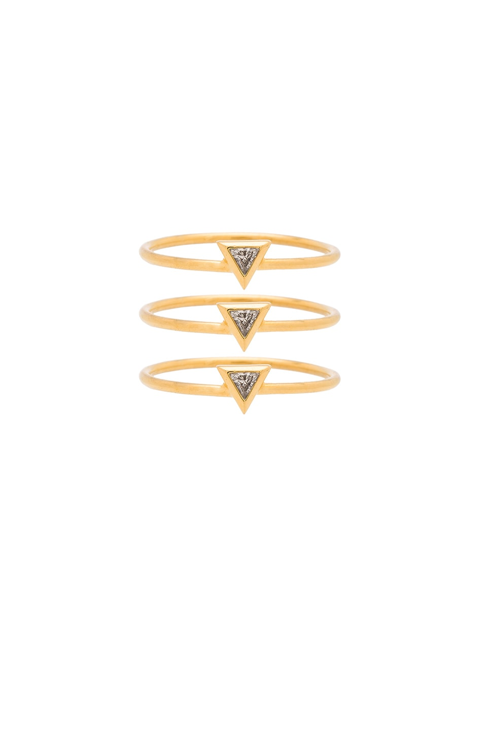 gorjana Vivienne Ring Set in Gold