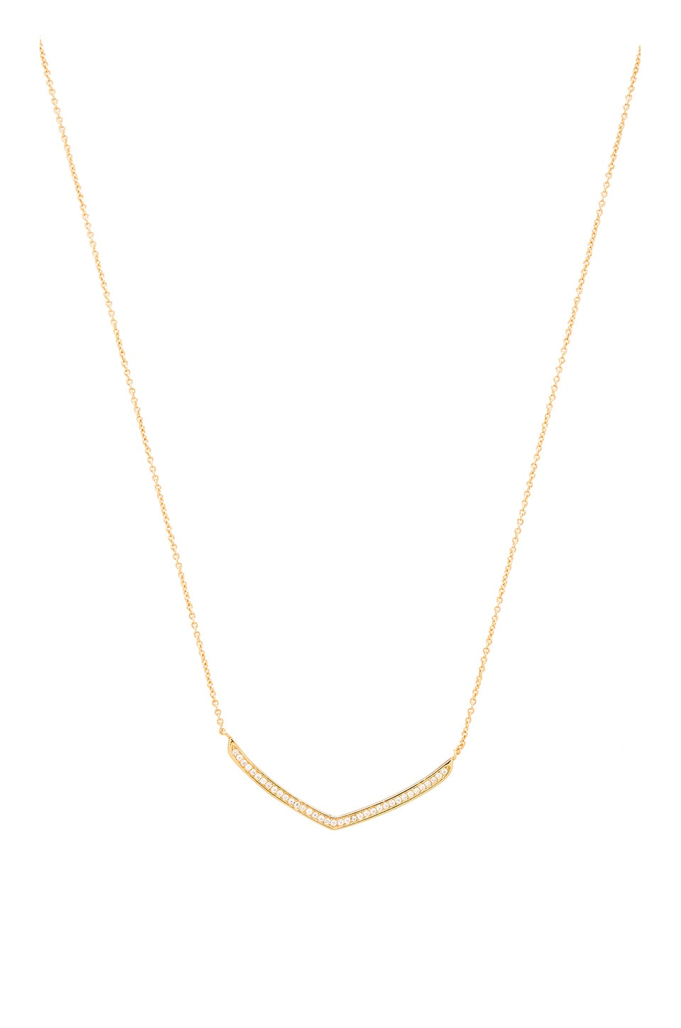 gorjana Cress Shimmer Necklace in Gold