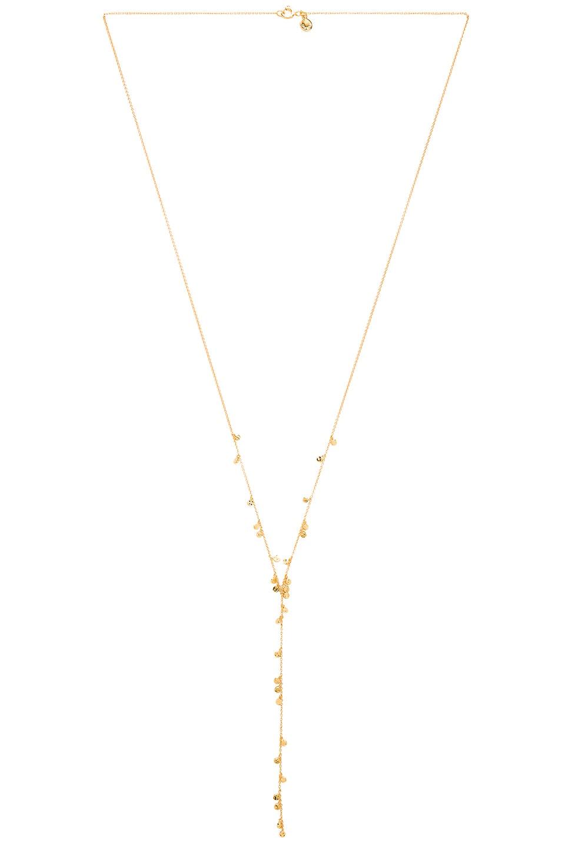 gorjana Chloe Mini Lariat in Gold