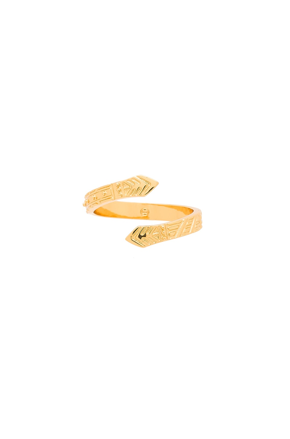 gorjana Mara Cobra Ring in Gold