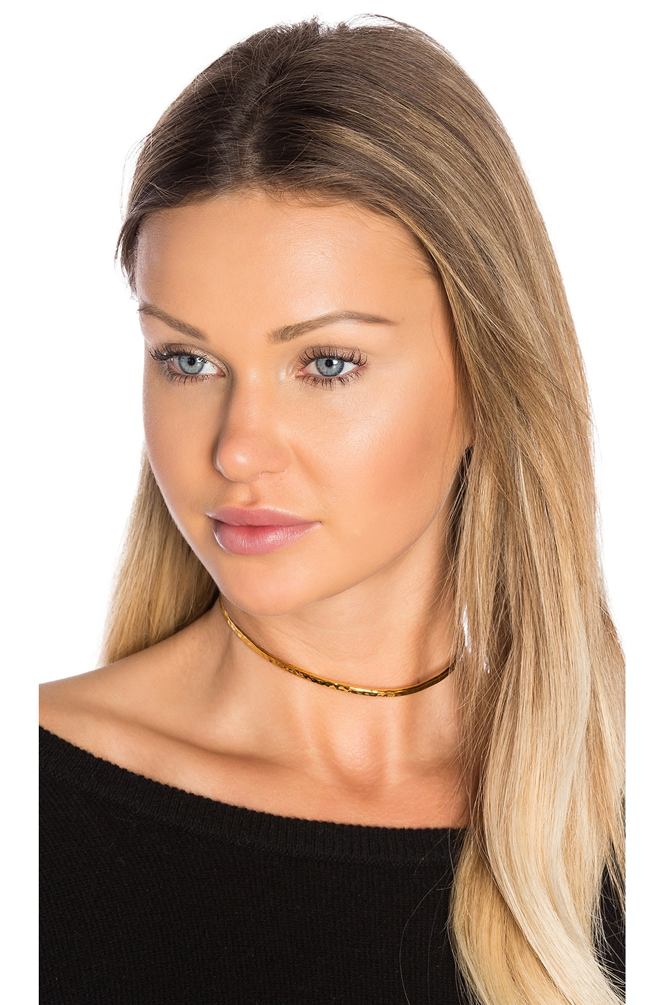 Hammered Choker by gorjana