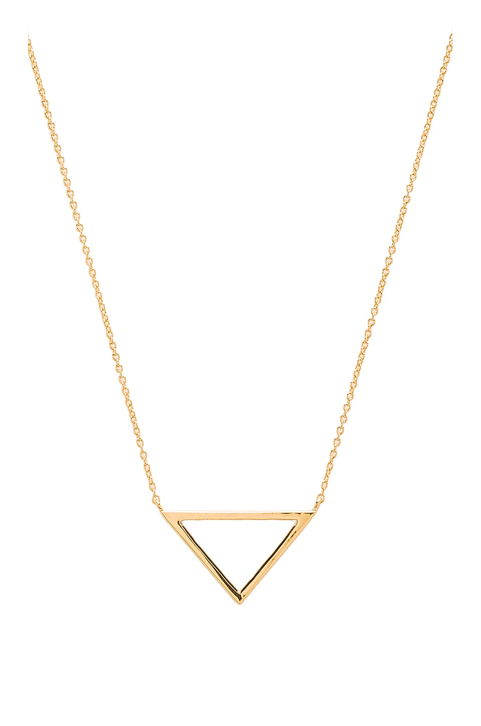gorjana Anya Charm Necklace in Gold