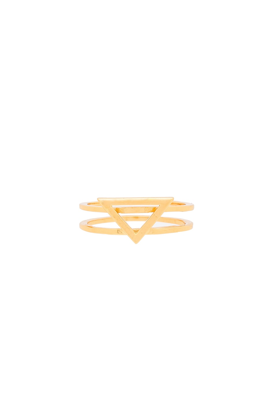 gorjana Anya Triangle Ring in Gold
