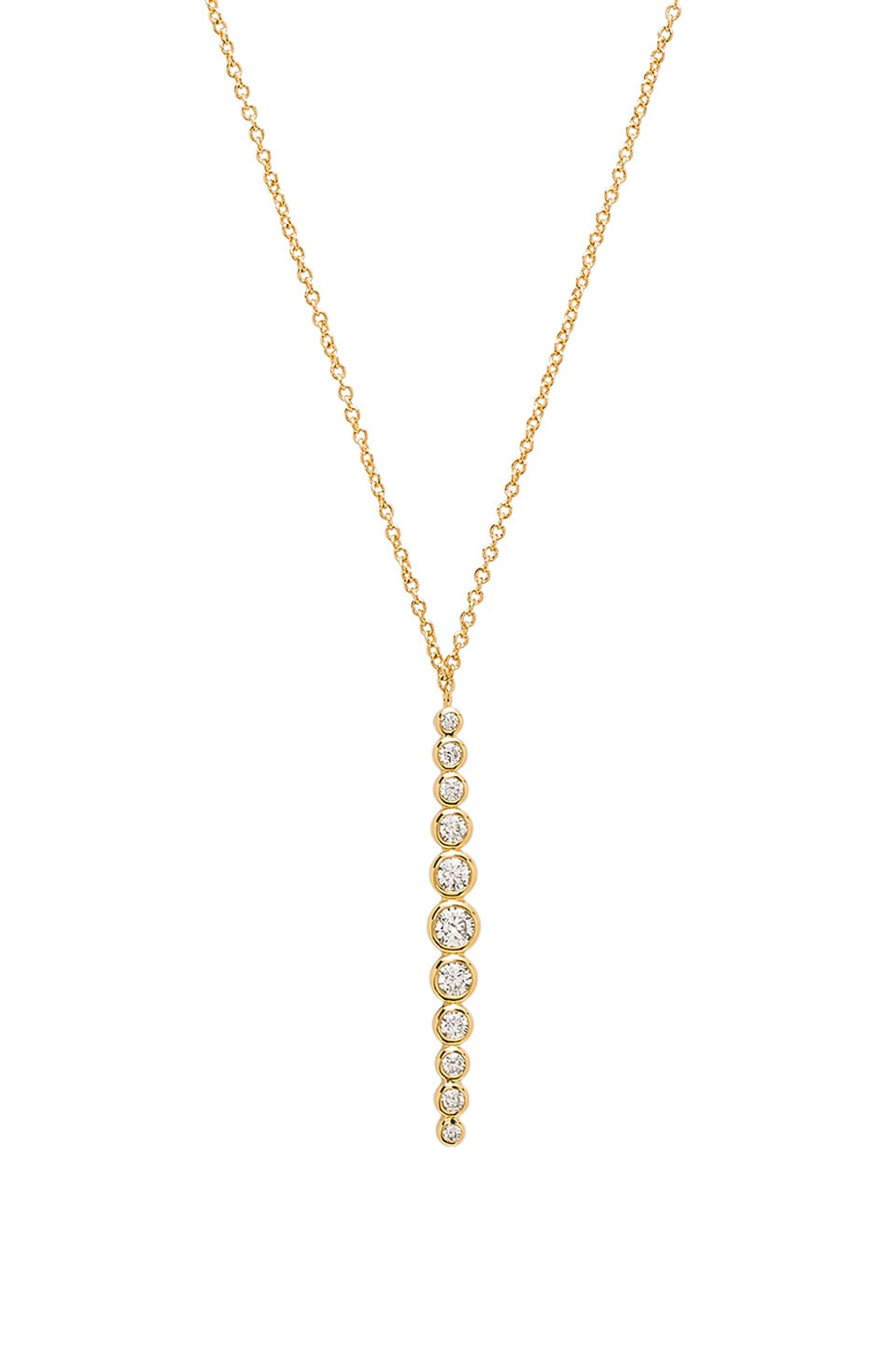 gorjana Mae Shimmer Pendant Necklace in Gold