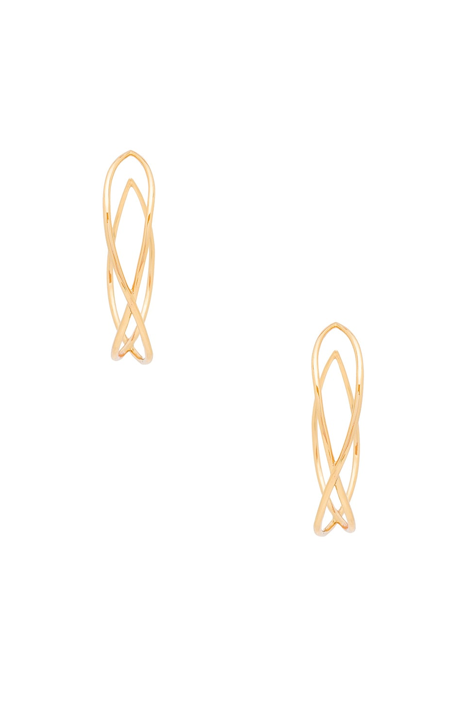 gorjana Autumn Hoop Earrings in Gold