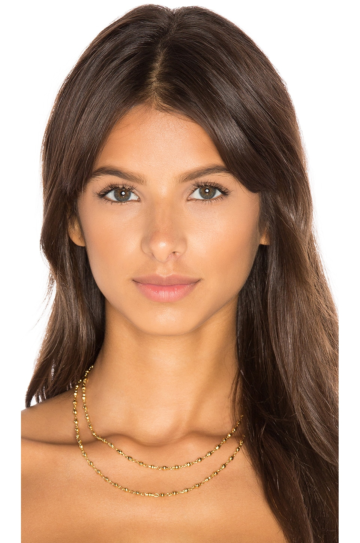 gorjana Layer Bali Wrap Necklace in Gold