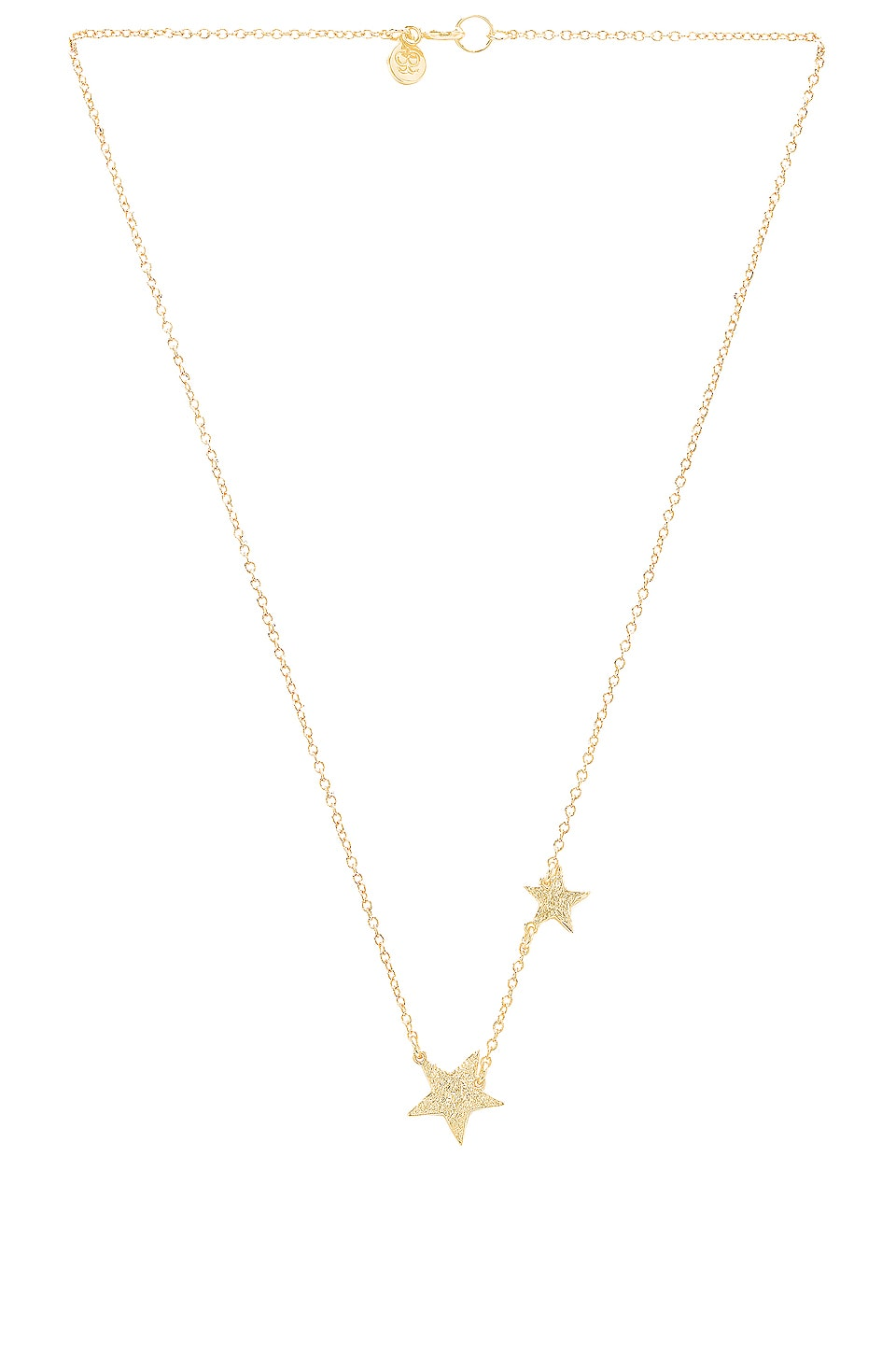 gorjana Super Star Necklace in Gold