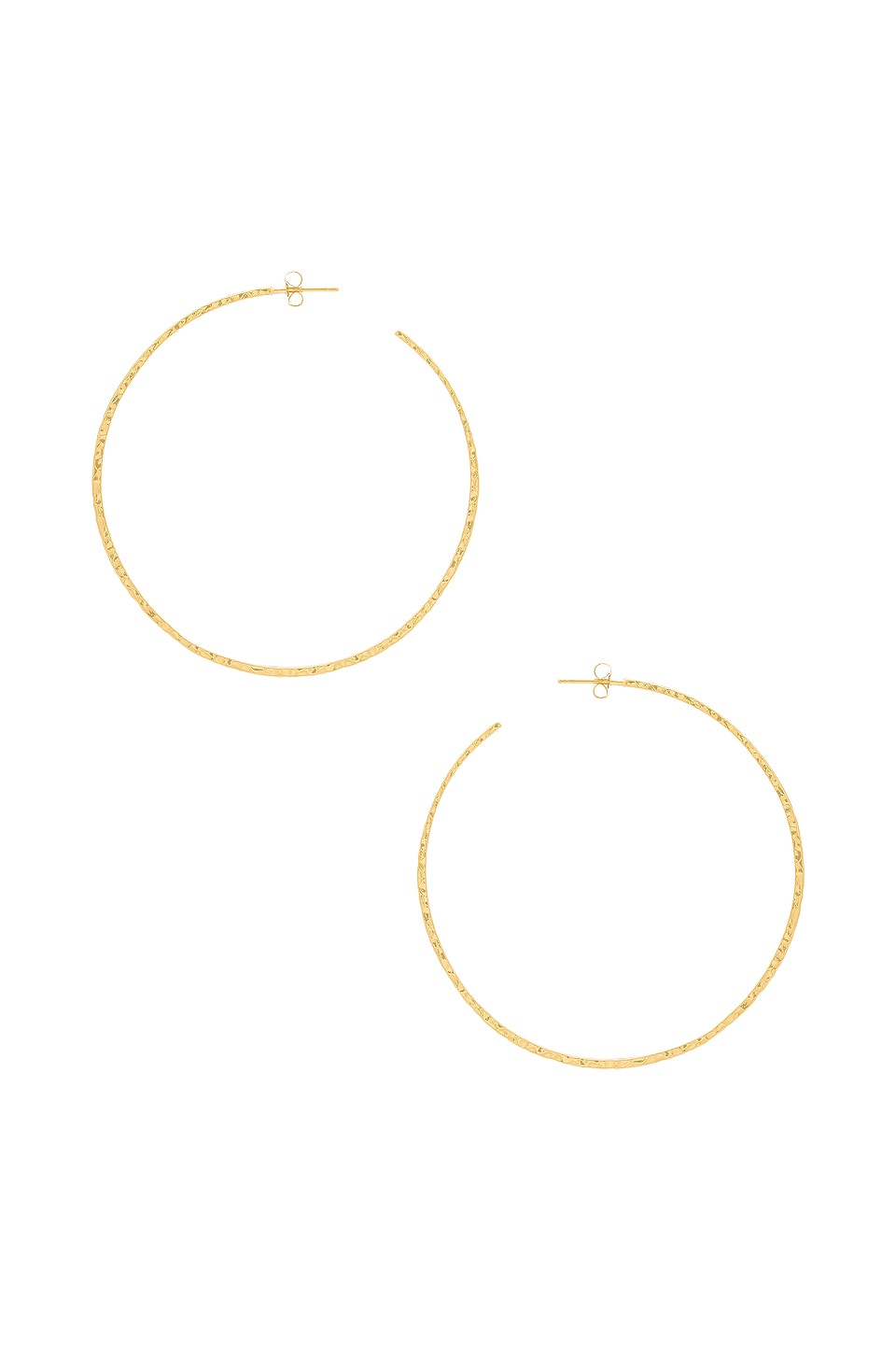 gorjana Taner XL Hoop Earrings in Gold
