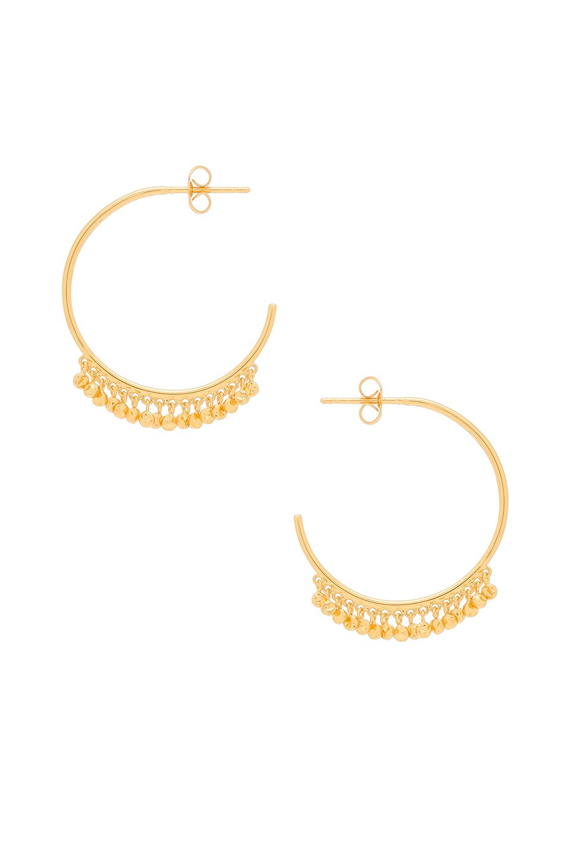Chloe Mini Hoop Earrings by Gorjana