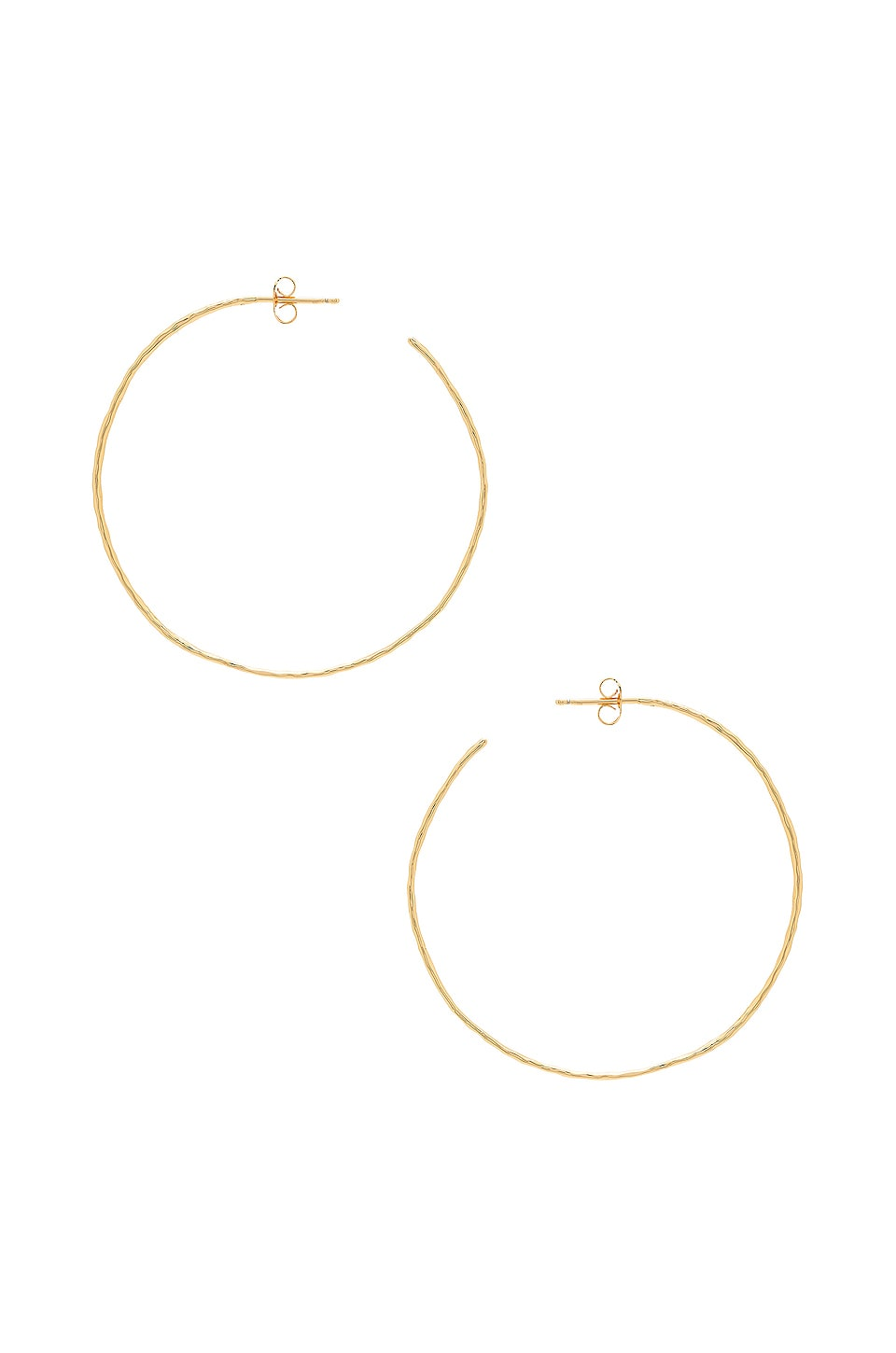 gorjana Harbour Hoop Earrings in Gold