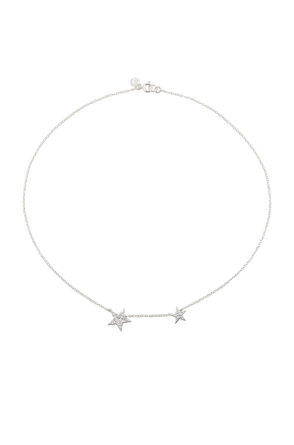 gorjana Super Star Necklace in Silver