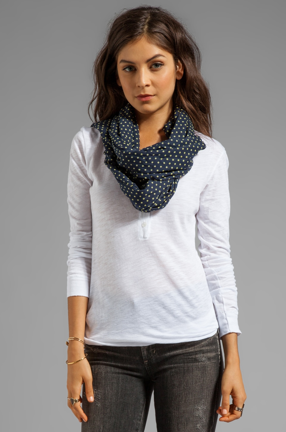 gorjana Hampton Scarf in Navy