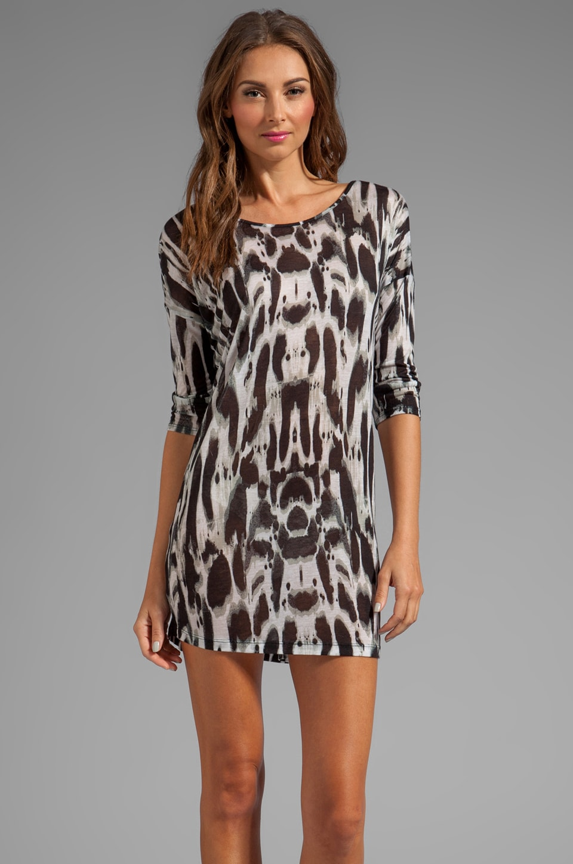 Graham & Spencer Ink Blot Dress in Multi