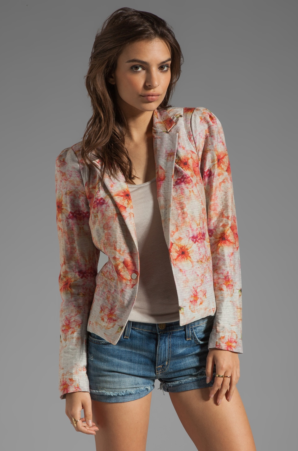 Graham & Spencer Flora Jacquard Blazer in Multi