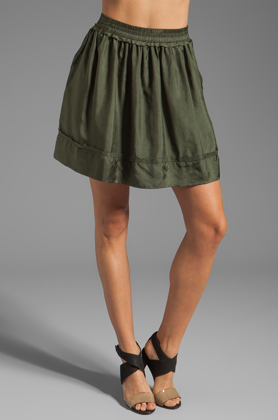 Graham & Spencer Skirt in Army