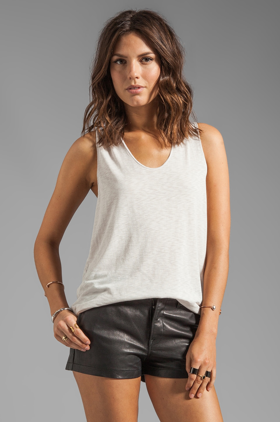 Graham & Spencer Modal Tank in Sugar