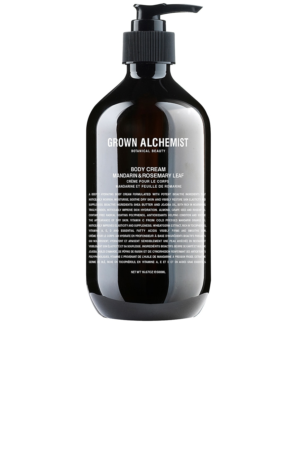 Grown Alchemist Body Cream in Mandarin & Rosemary Leaf