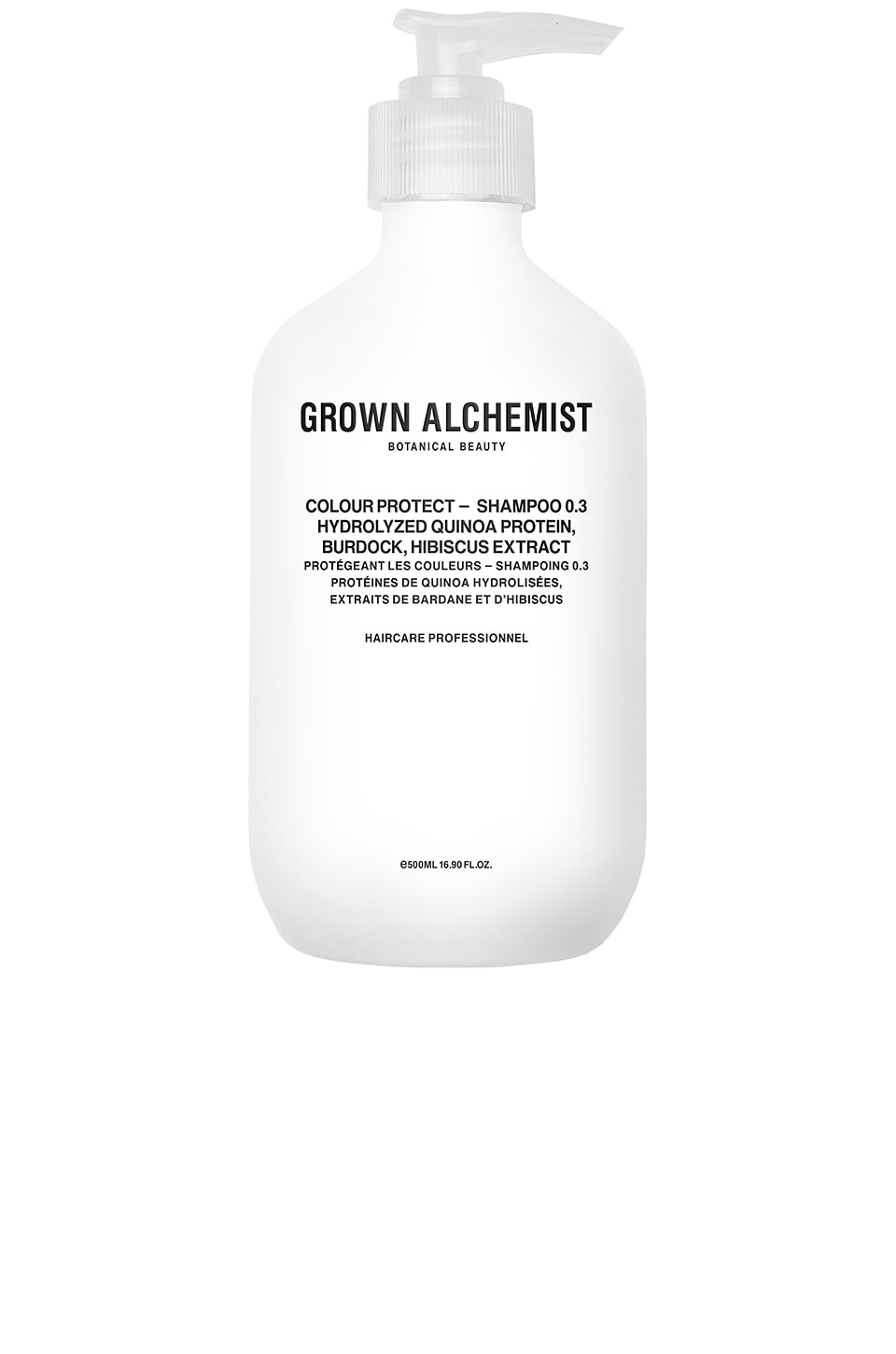 Grown Alchemist Colour-Protect Shampoo 0.3 in Hydrolyzed Quinoa Protein & Burdock & Hibiscus Extract