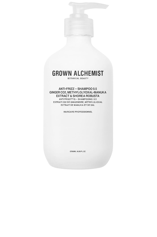 Grown Alchemist Anti-Frizz Shampoo 0.5 in Ginger CO2 & Methylglyoxal-Manuka Extract & Shorea Robusta