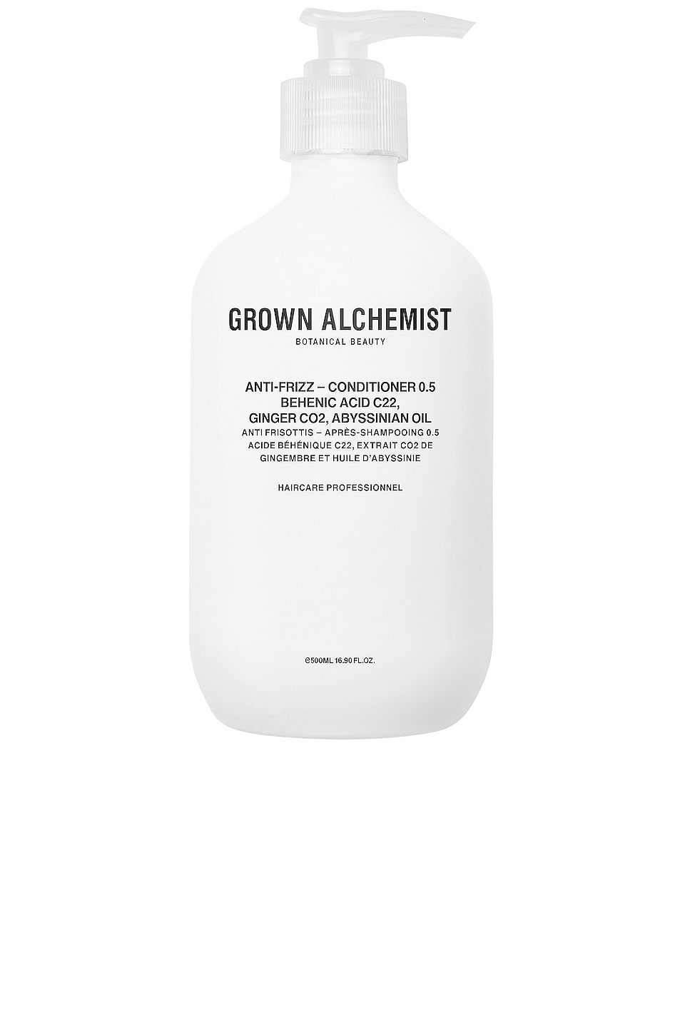 Grown Alchemist Anti-Frizz Conditioner 0.5 in Behenic Acid C22 & Ginger CO2 & Abyssinian Oil