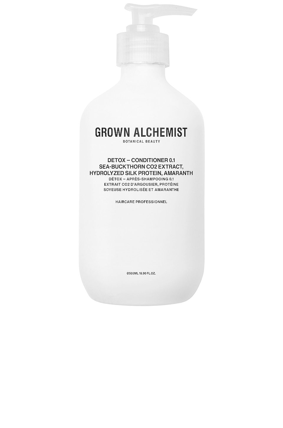 Grown Alchemist Detox Conditioner 0.1 in Sea-Buckthorn CO2 Extract & Hydrolyzed Silk Protein & Amaranth