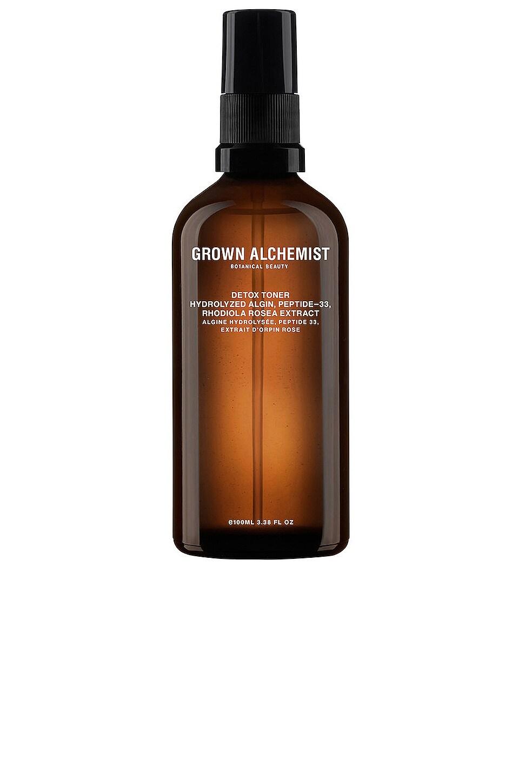 Grown Alchemist Detox Toner Hydrolyzed Algin, Peptide Rosea Extract