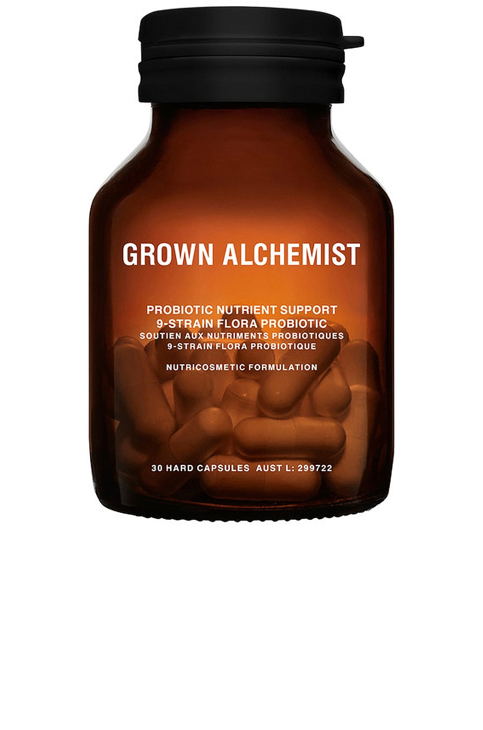 Grown Alchemist Probiotic Nutrient Support: 9-Strain Flora Probiotic
