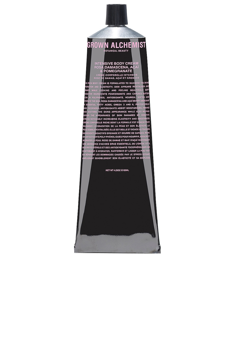 Grown Alchemist Intensive Body Cream Tube Rosa Damascena & Acai & Pomegranate