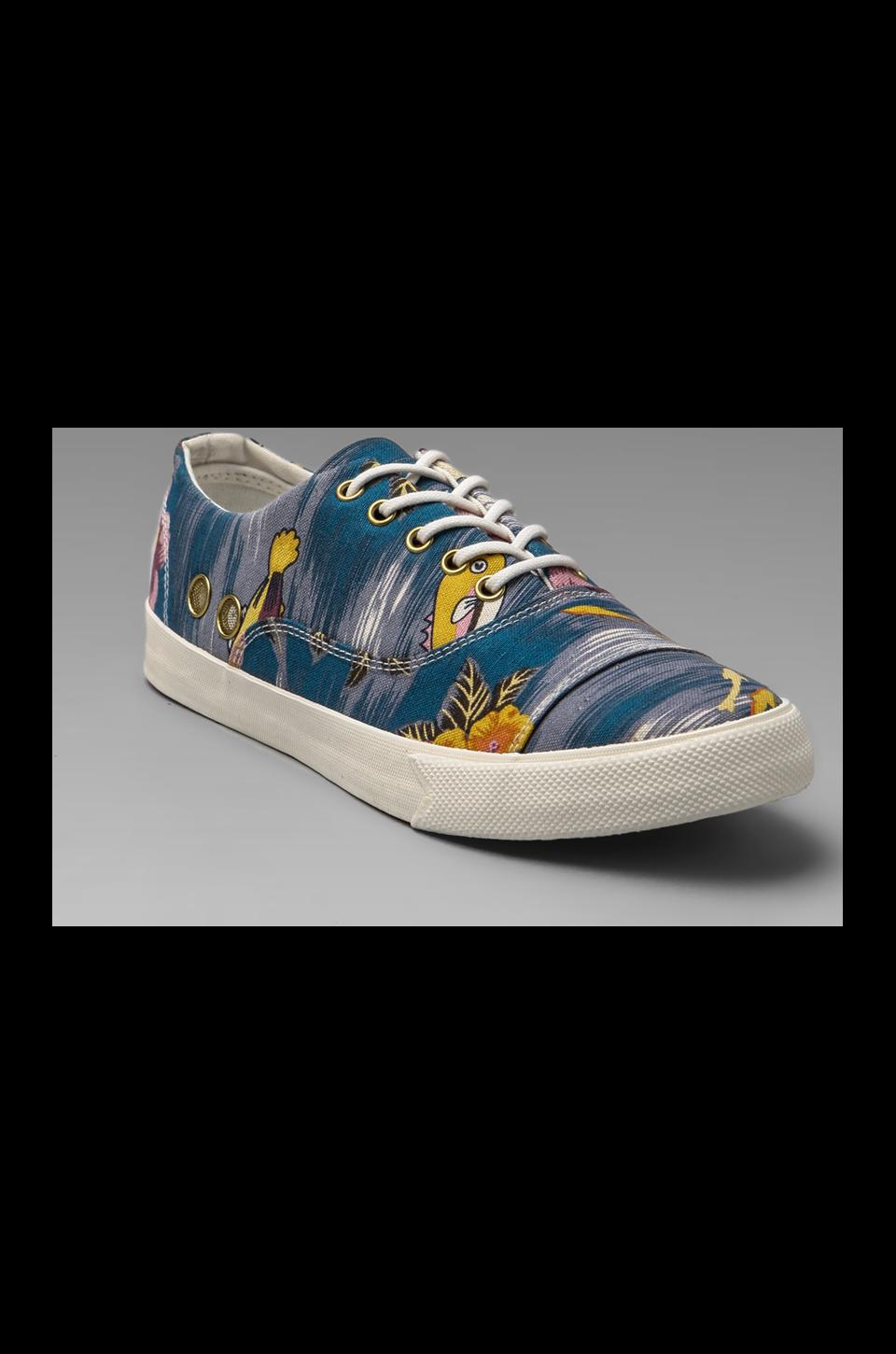 Gram 352G Cotton Canvas in Blue Aquarium