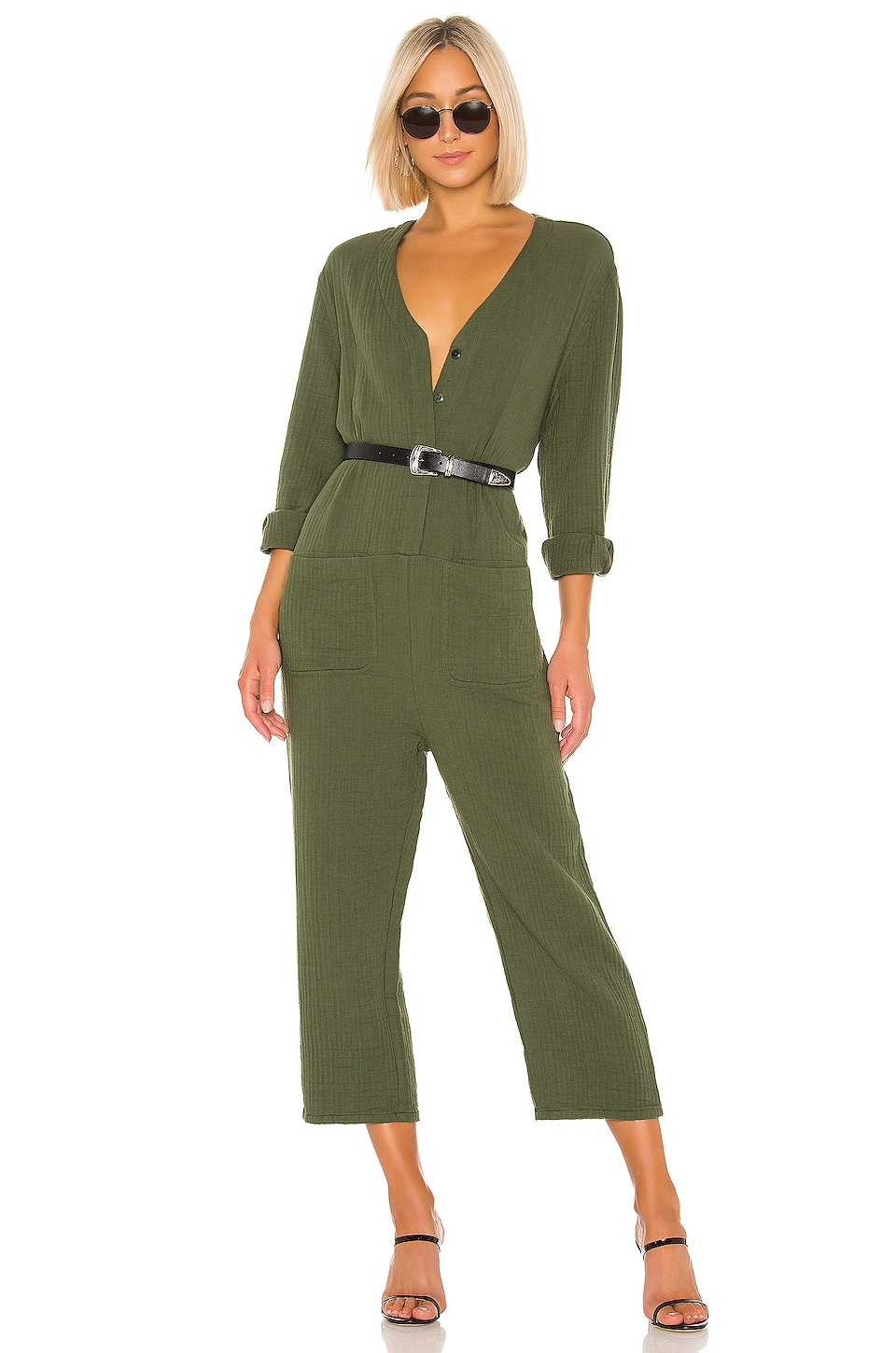 The Great Union Coverall in Olive