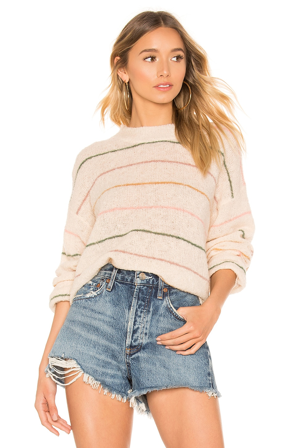 The Great The Pull Over in Spring Stripe