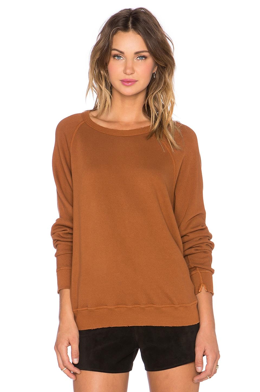 The Great The College Sweatshirt in Rust