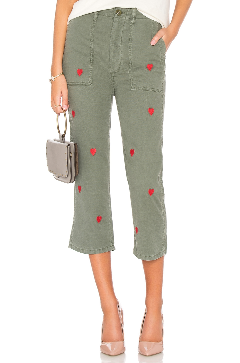 The Straight Leg Army Pant