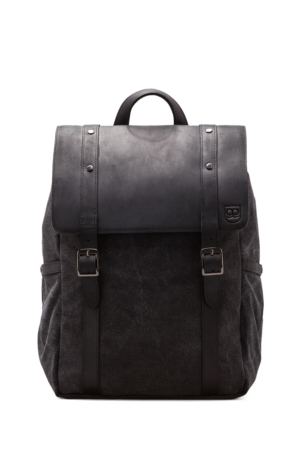 griffin Assembly Backpack in Black/ Cobalt