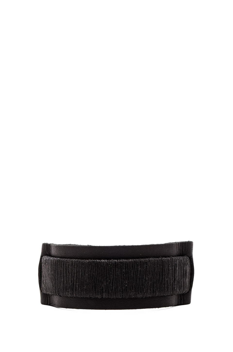griffin Colton Cuff in Black