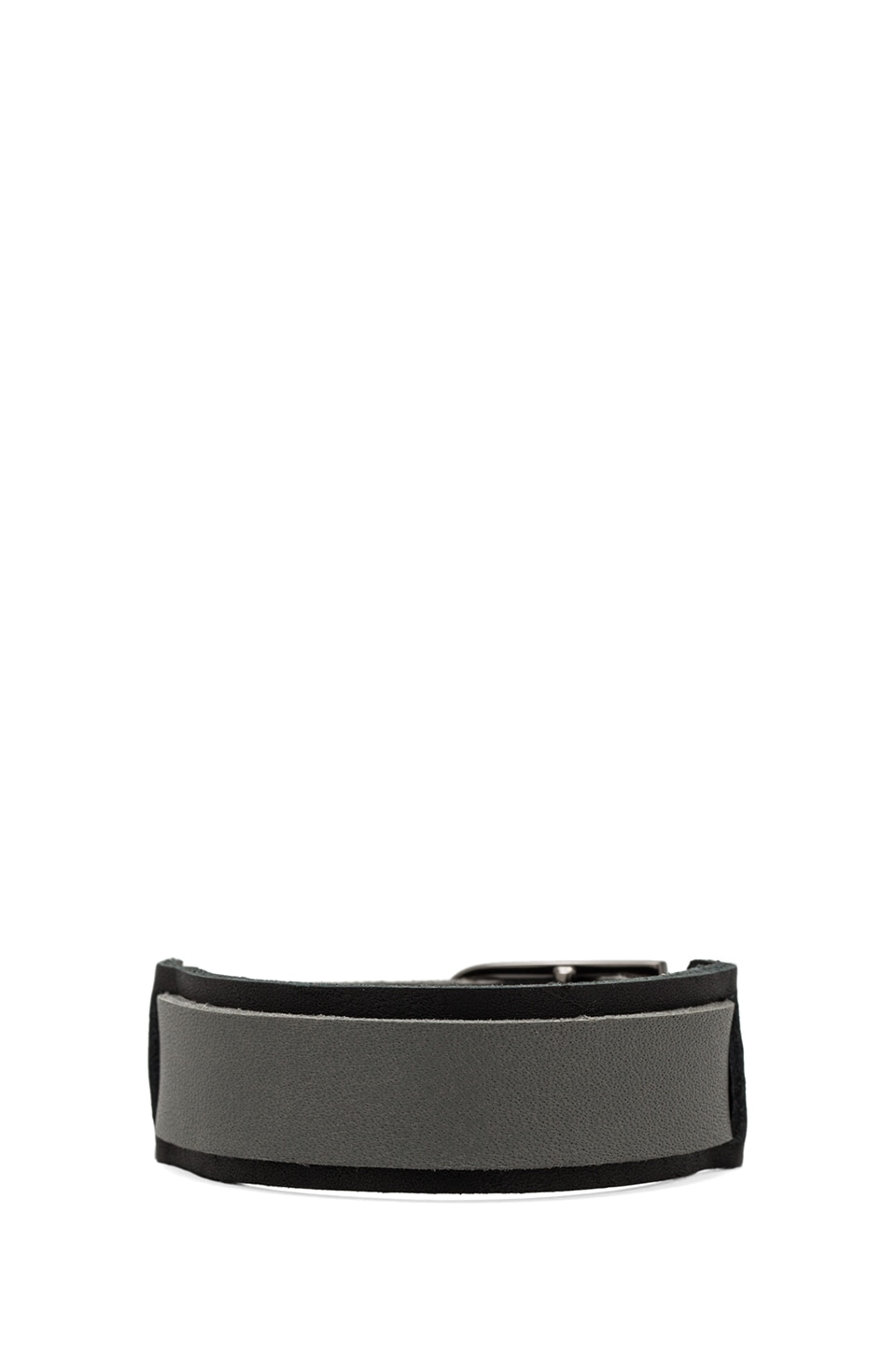 Griffin Dillan Cuff in Black/Grey